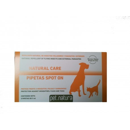 PIPETAS NATURAL CARE 5 UNIDADES