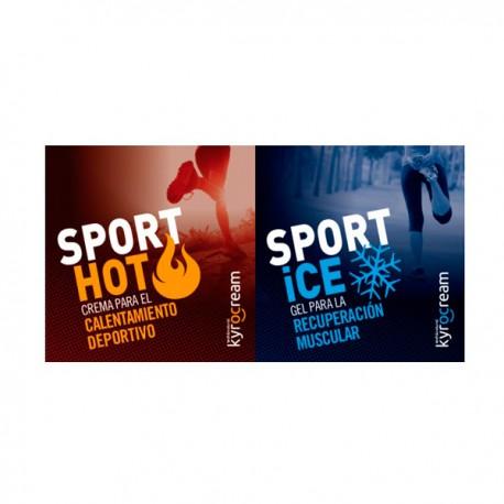 MUESTRA Kyrocream Sport Hot / Ice