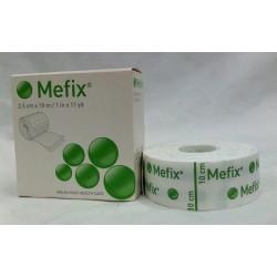 MEFIX 2,5CM X 10 M TIRA ADHESIVA POROSA T/SIN TEJER