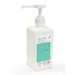 GEL Hidroalcohólico  Alco-Aloe 500 ML (SIN ACLARADO) Desinfección de manos  con dosificador