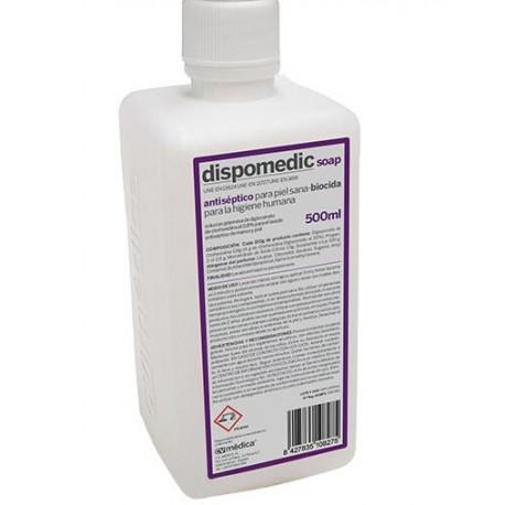 DISPOCLORHEX 4% SOAP SCRUB JABON CON GLUCONATO DE CLORHEXIDINA 500 ML(BIOICIDA)