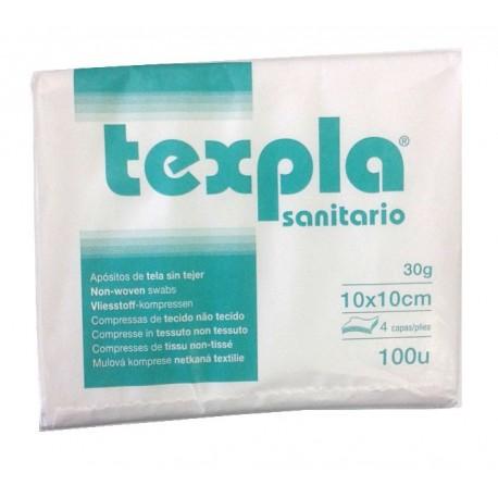 TEXPLA APOSITO 20X20 PLEG. 10X10 4C 30G  B/ 100 UDS